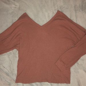 Dusty Rose Long Sleeve Top (Super Soft)
